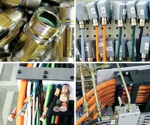 cable carrier components