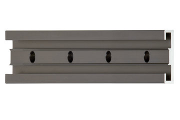 drylin® N guide rail, installation size 40, anti-reflex