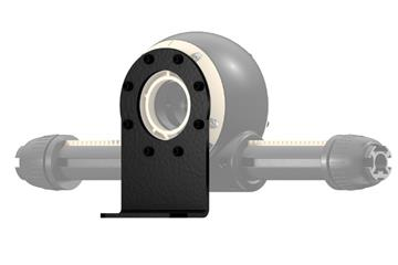 drygear® Apiro assembly option vertical, flange