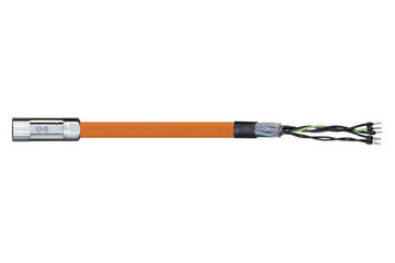 readycable® motor cable suitable for Parker iMOK43, base cable PUR 10 x d
