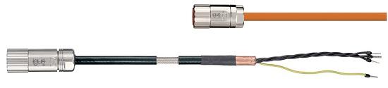cable motor con conectores