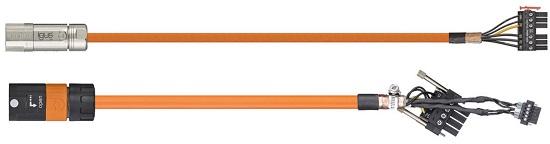 cable medicion con conectores