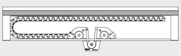 igus montagehinweise f r system micro flizz alternative zur stromschiene. Black Bedroom Furniture Sets. Home Design Ideas