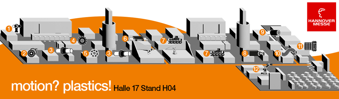 igus® in Halle 17 / Stand H04.