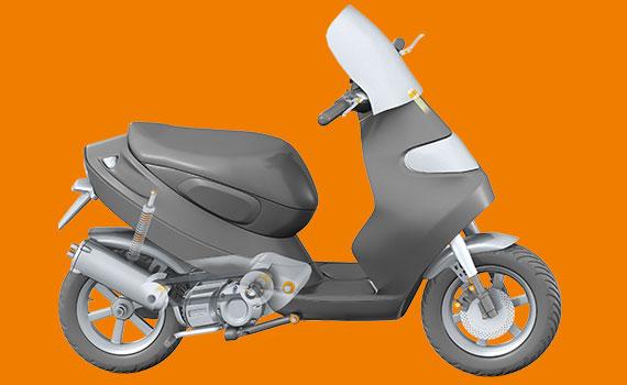 Schmiermittel Und Wartungsfreie Lösungen Für Motorräder Und Roller