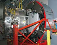 Das astronomische teleskop sternzeit