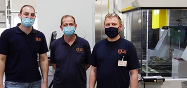 Mouth and nose protection in the factory