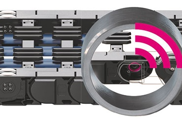 Roller energy chains