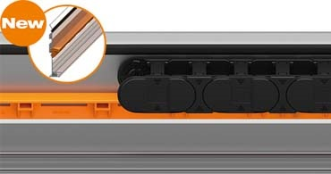 High-speed glide bar