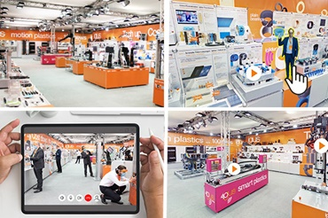 Virtual visit to igus trade show stand