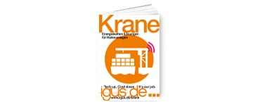 Brochure: energy chain systems for cranes