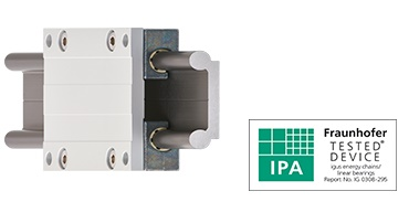 drylin WSQ linear guide - cleanroom suitability tested by IPA