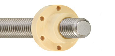 Lubrication-free lead screw technology
