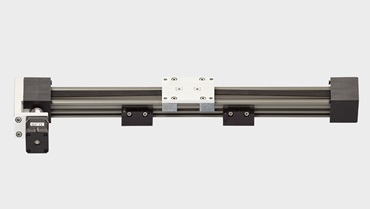 drylin E electric linear axis and linear drive with motor