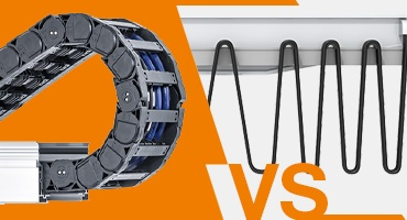 Energy chains systems instead of festooning
