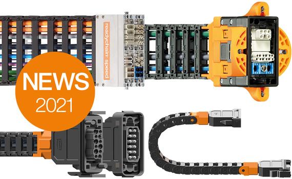 E-Ketten steckbar machen mit der Produktfamilie plug-in e-chain®