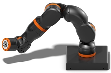 Robotic arm with robolink® ReBeL joints